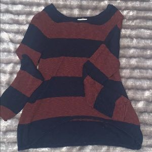 Striped Billabong sweater